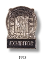 1993 Exhibitor Badge
