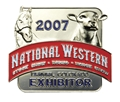 2007 Exhibitor Badge