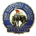2008 Exhibitor Badge