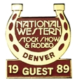 1989 Guest Badge