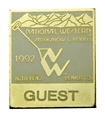 1992 Guest Badge