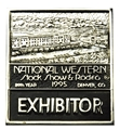 1995 Exhibitor Badge