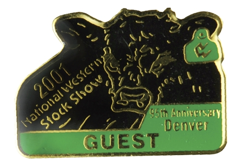 2001 Guest Badge