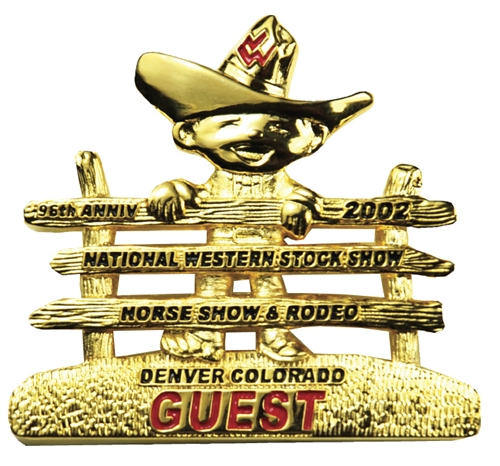 2002 Guest Badge (Gold and Silver)