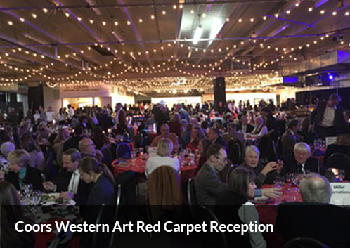 Coors Western Art Red Carpet Reception